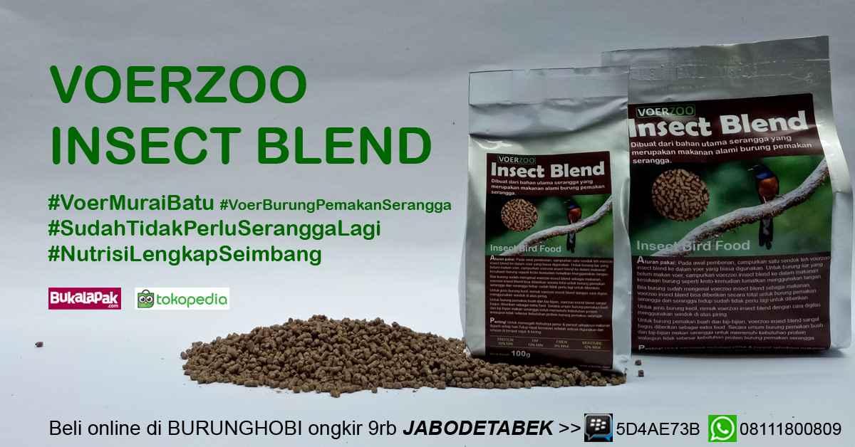 Voerzoo insect blend - voer untuk murai batu